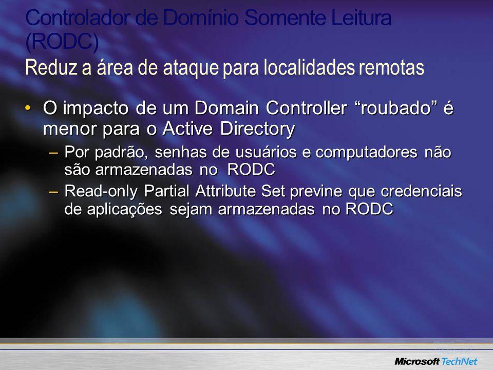 Controlador de Domínio Somente Leitura (RODC)