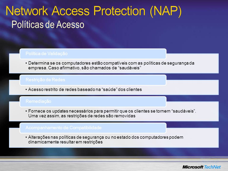 Network Access Protection (NAP)