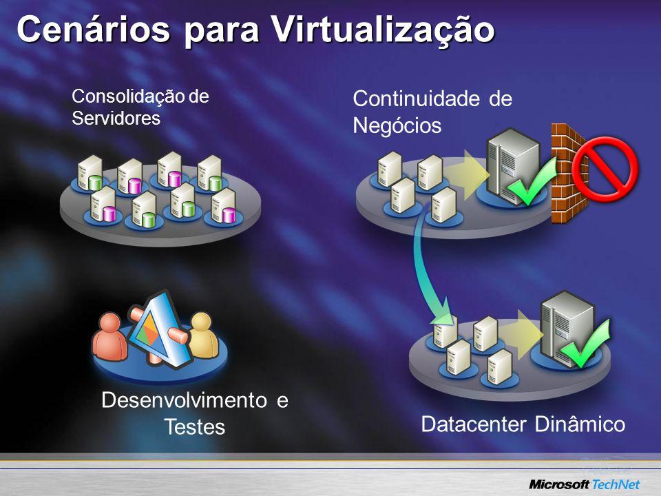 Cenários para Virtualização
