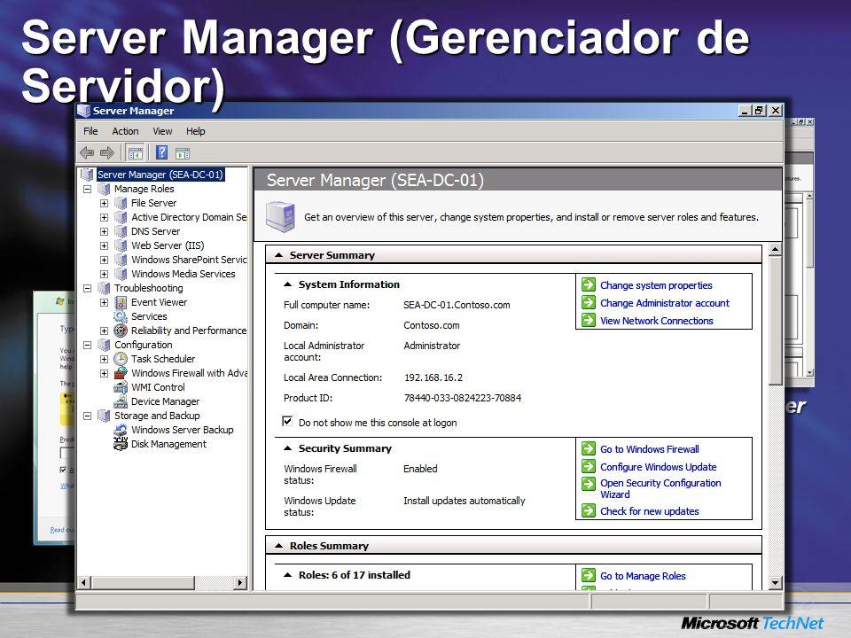 Server Manager (Gerenciador de Servidor)