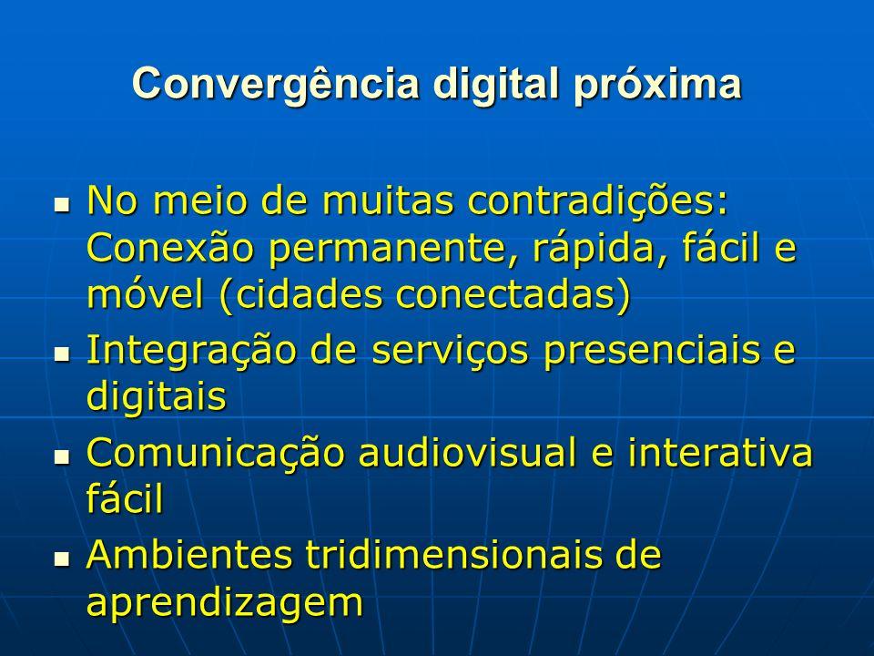 Convergência digital próxima