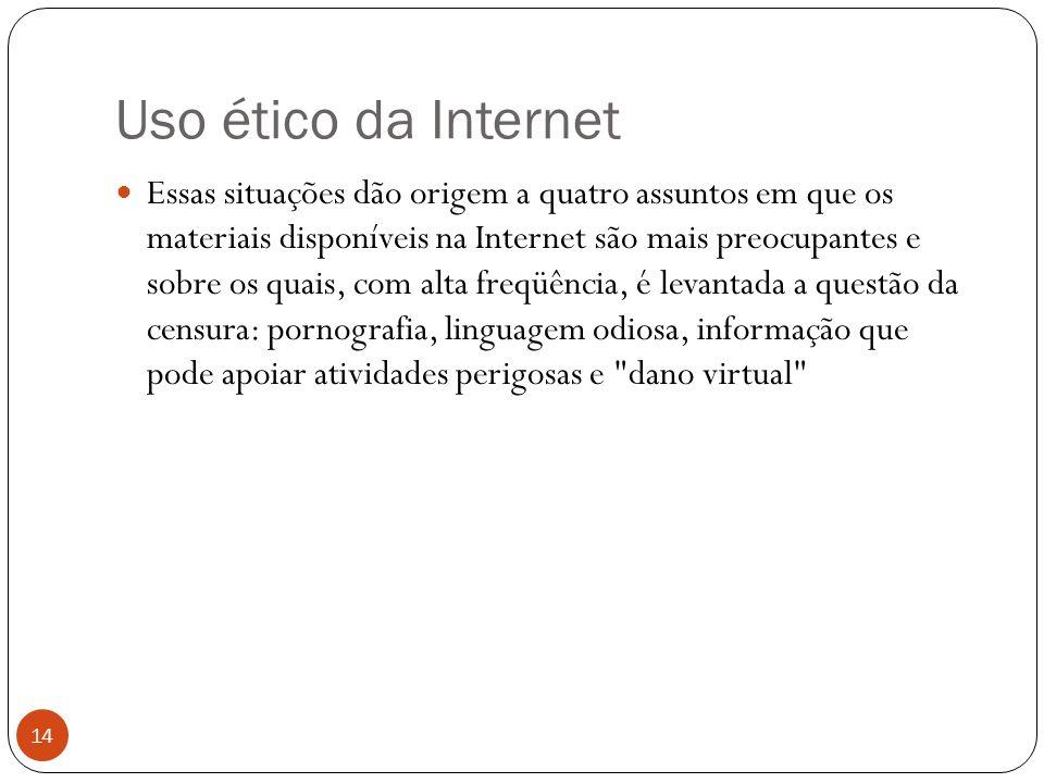 Uso ético da Internet