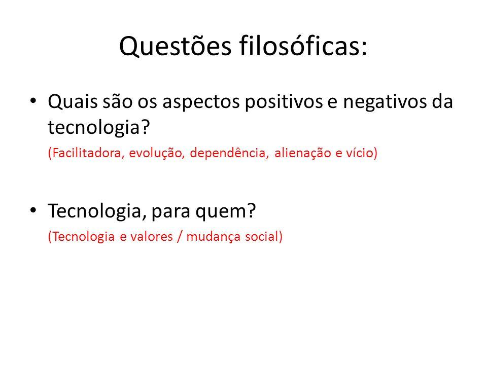Questões filosóficas: