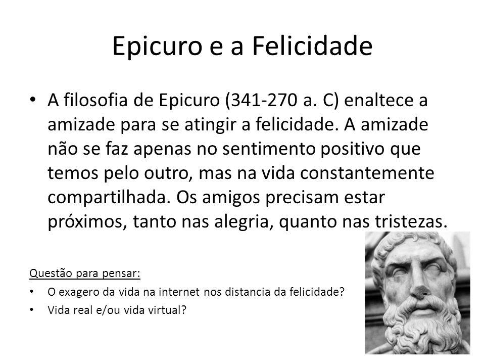 Epicuro e a Felicidade