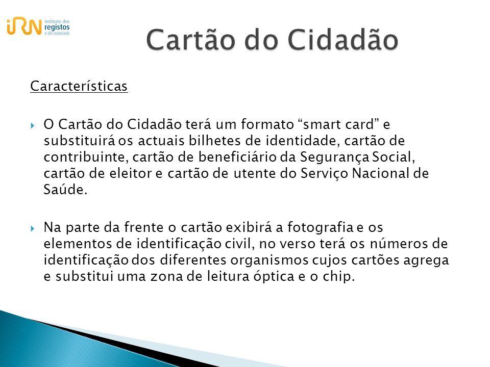 Cartão do Cidadão Características