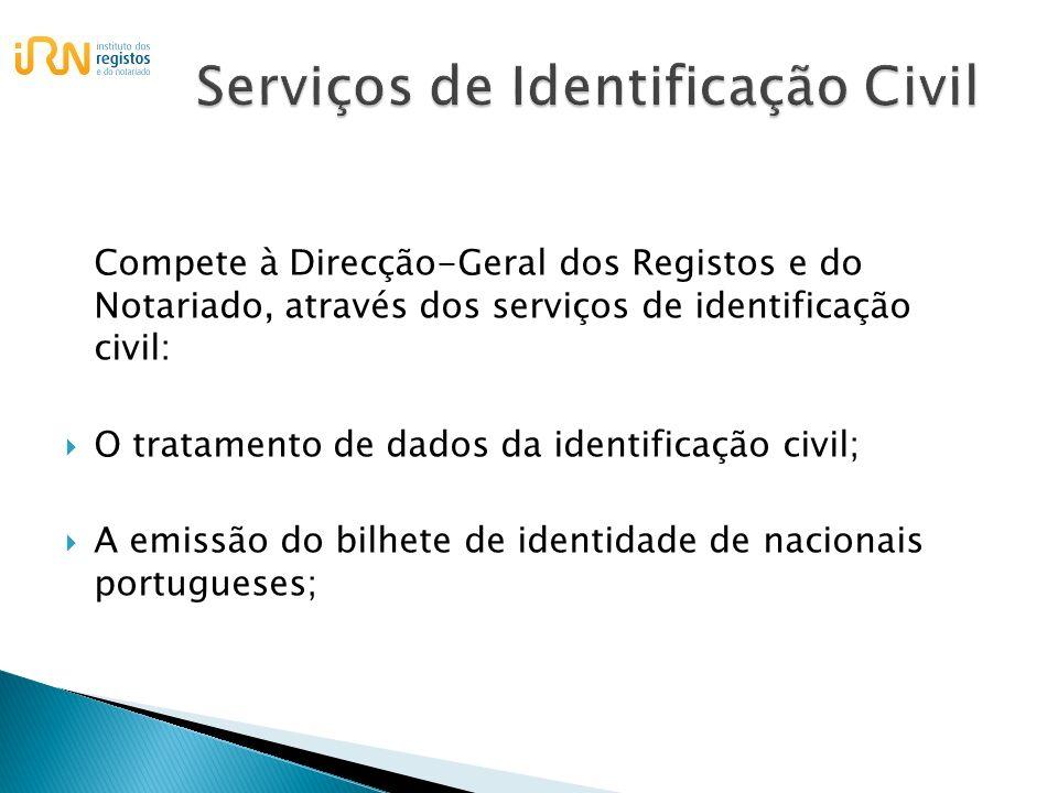 Serviços de Identificação Civil