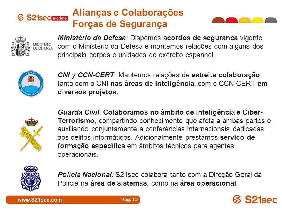 Alianças e Colaborações Forças de Segurança