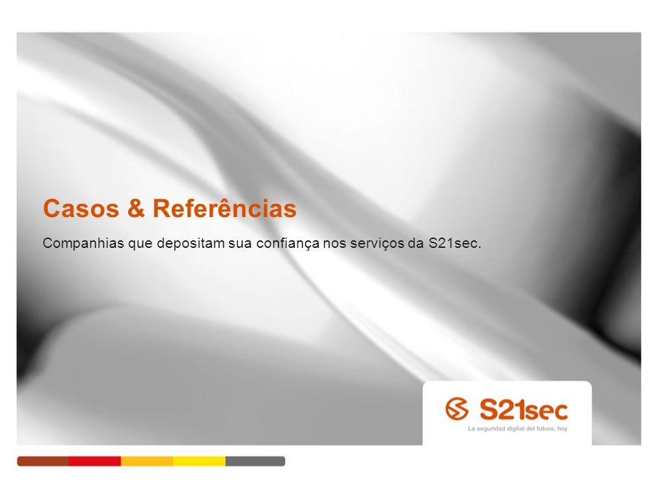 Companhias que depositam sua confiança nos serviços da S21sec.