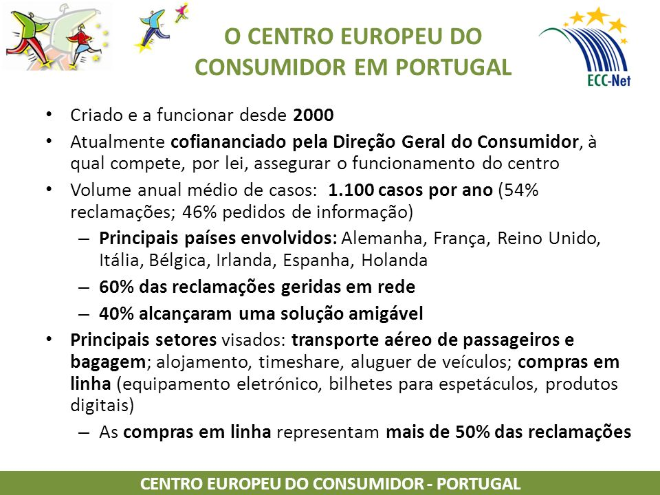 O CENTRO EUROPEU DO CONSUMIDOR EM PORTUGAL