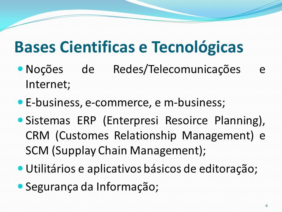 Bases Cientificas e Tecnológicas