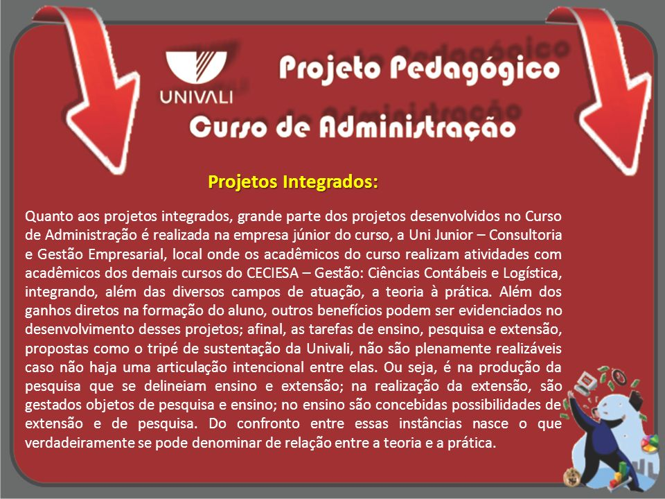 Projetos Integrados: