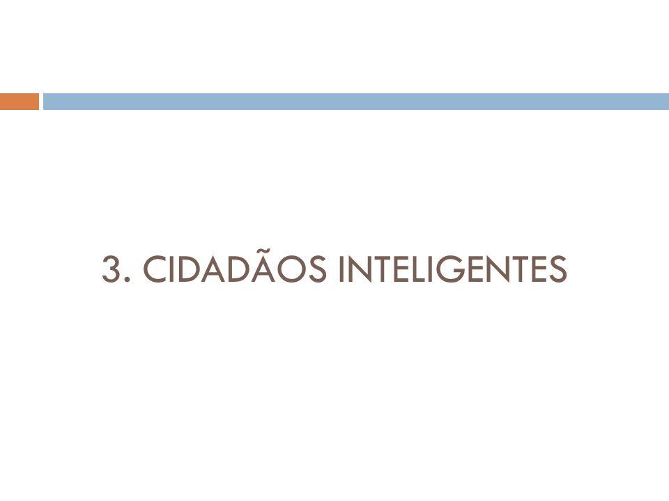 3. CIDADÃOS INTELIGENTES