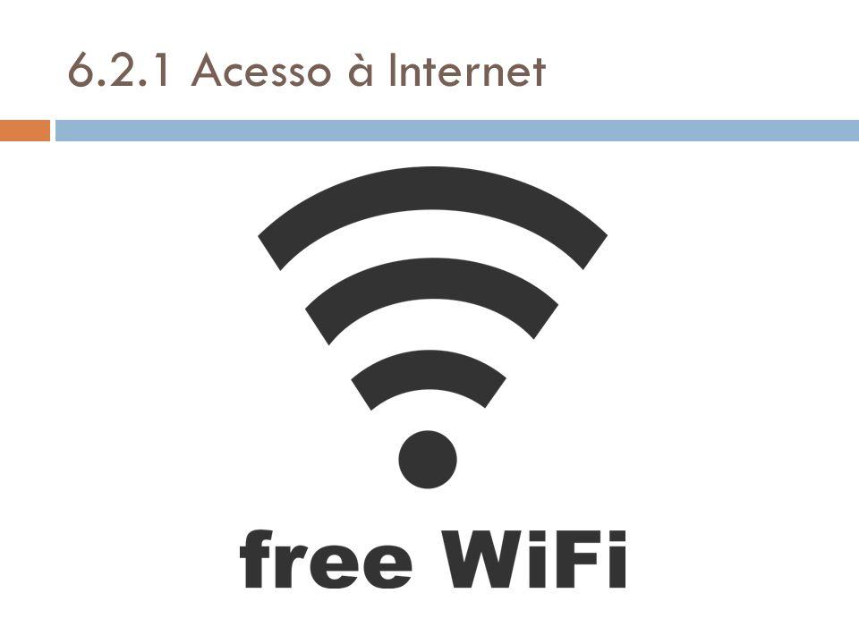 6.2.1 Acesso à Internet