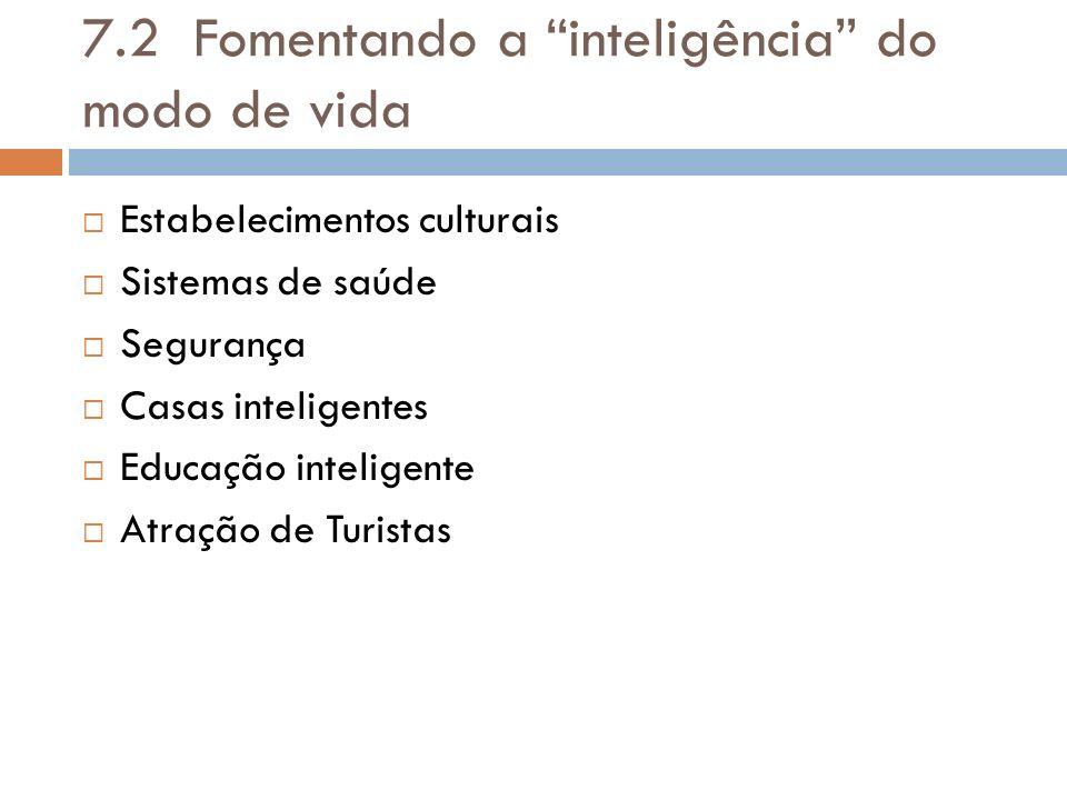 7.2 Fomentando a inteligência do modo de vida
