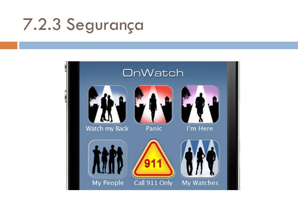 7.2.3 Segurança