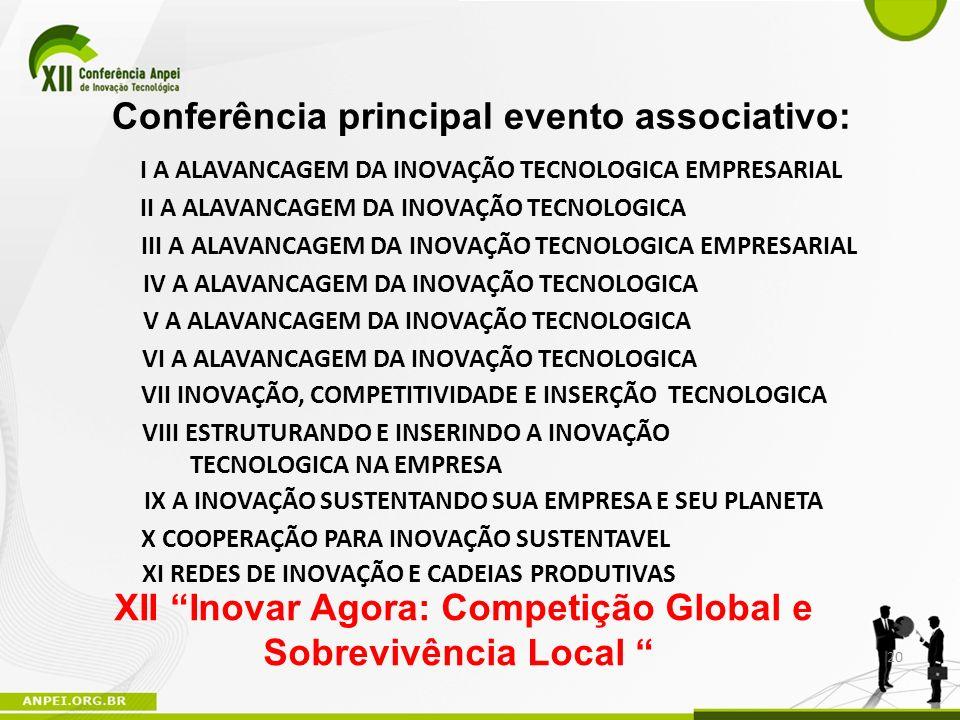 XII Inovar Agora: Competição Global e Sobrevivência Local