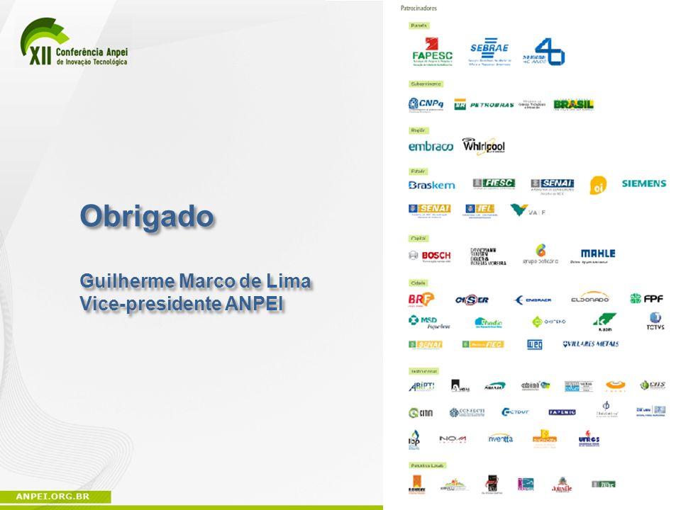 Obrigado Guilherme Marco de Lima Vice-presidente ANPEI