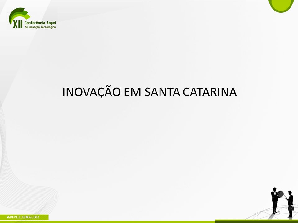 INOVAÇÃO EM SANTA CATARINA
