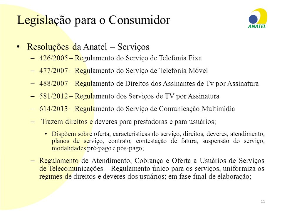 Legislação para o Consumidor