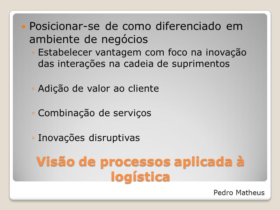 Visão de processos aplicada à logística