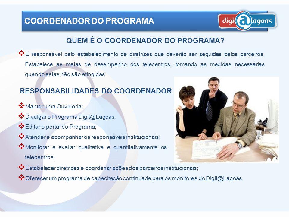 QUEM É O COORDENADOR DO PROGRAMA