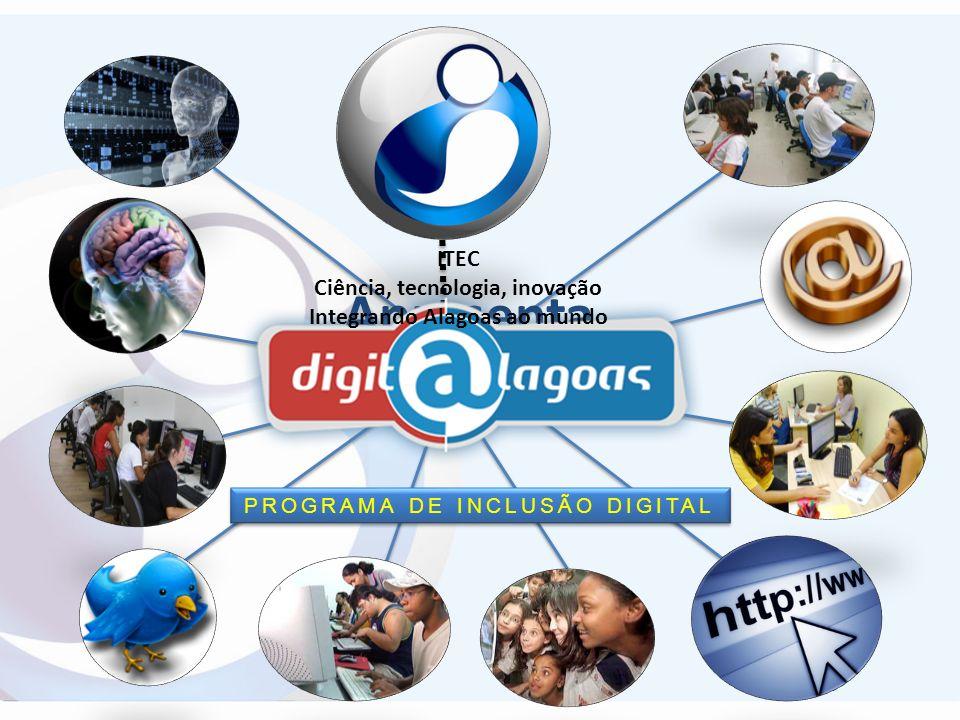 Ciência, tecnologia, inovação Integrando Alagoas ao mundo