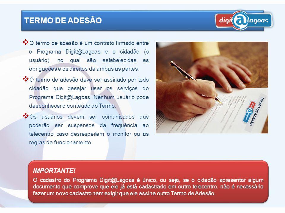 TERMO DE ADESÃO IMPORTANTE!