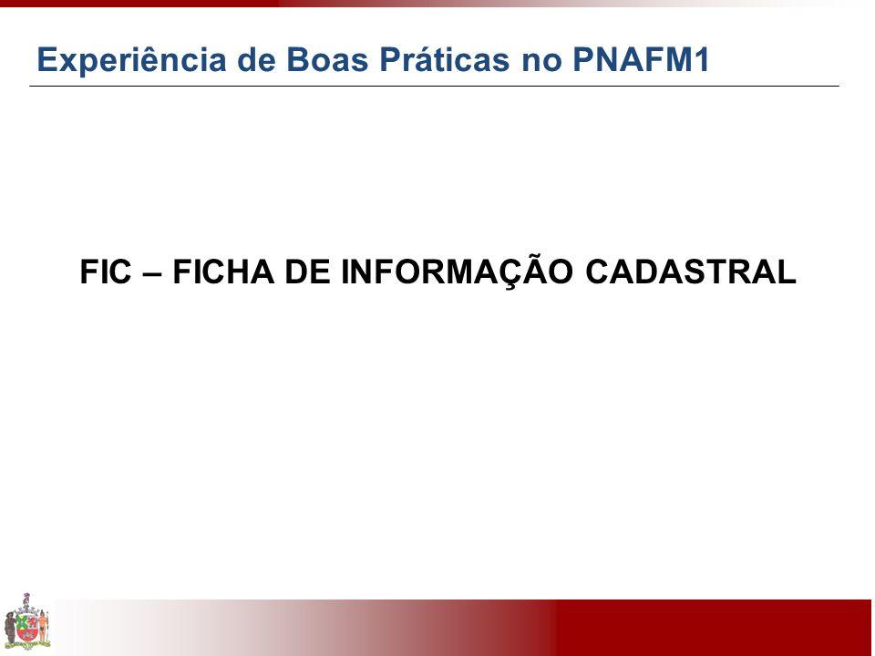 FIC – FICHA DE INFORMAÇÃO CADASTRAL