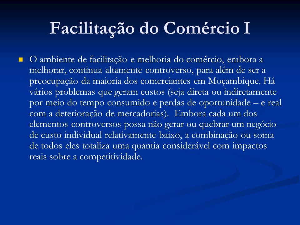 Facilitação do Comércio I