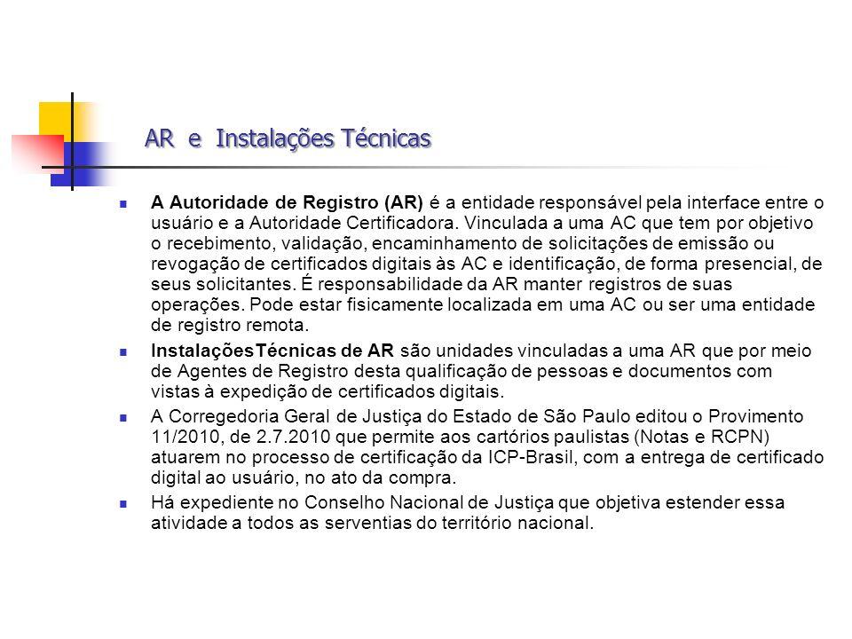 AR e Instalações Técnicas