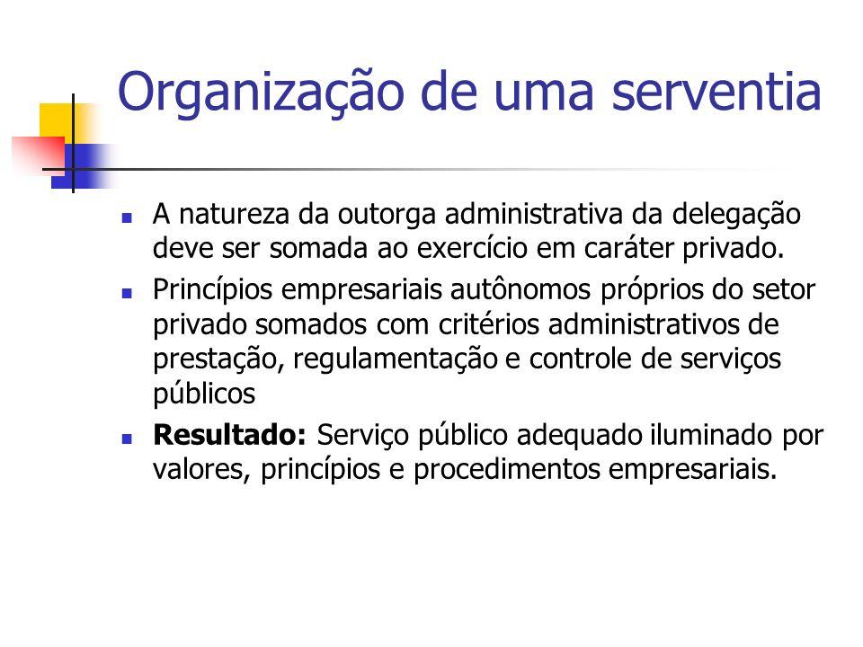 Organização de uma serventia