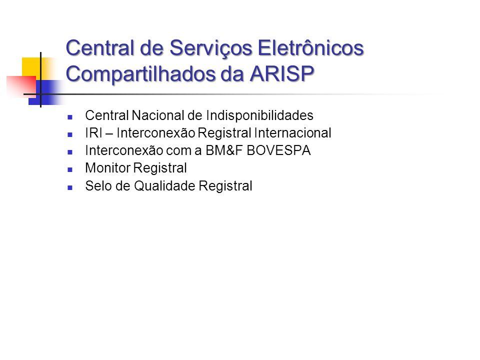 Central de Serviços Eletrônicos Compartilhados da ARISP