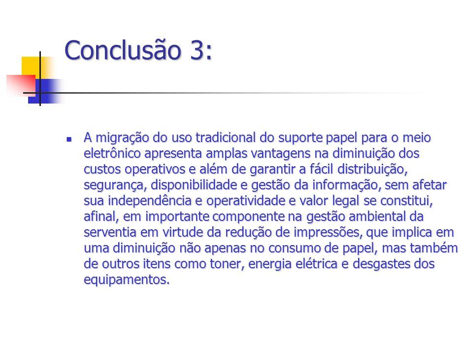 Conclusão 3: