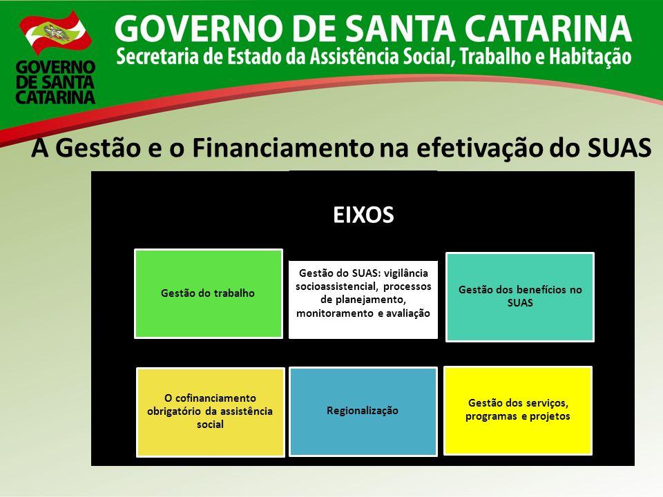 A Gestão e o Financiamento na efetivação do SUAS