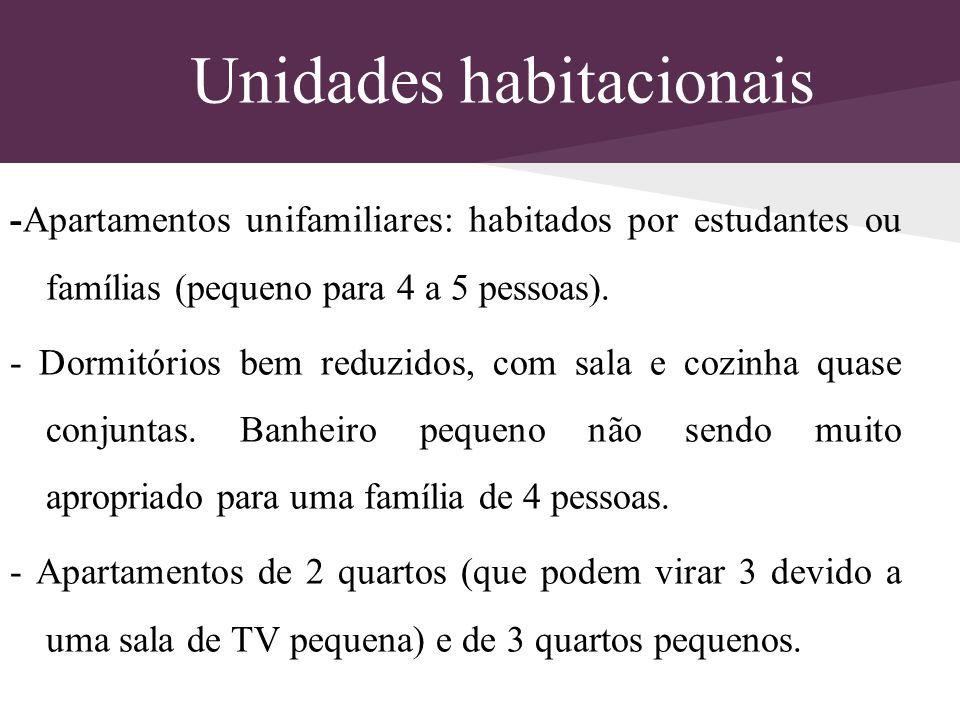Unidades habitacionais