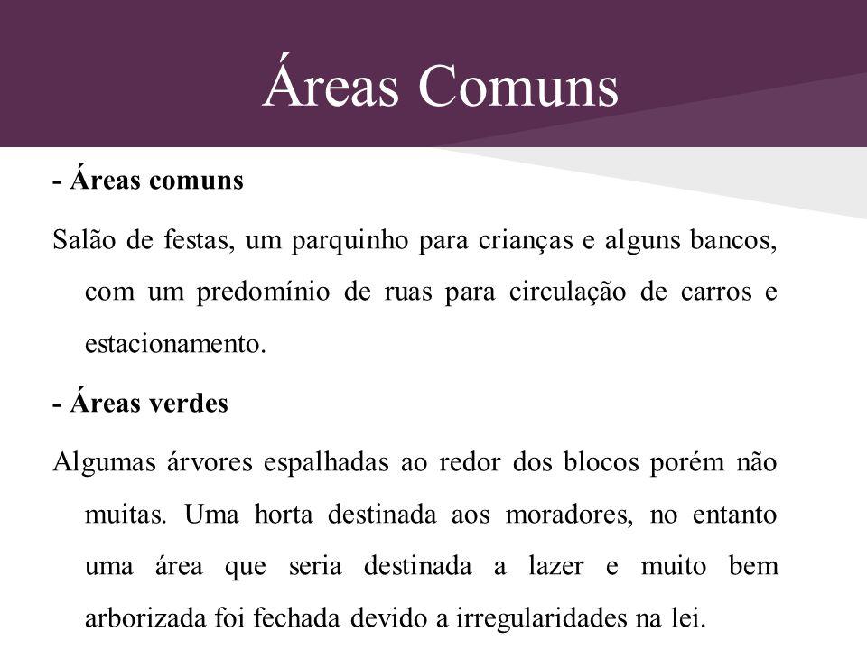 Áreas Comuns - Áreas comuns