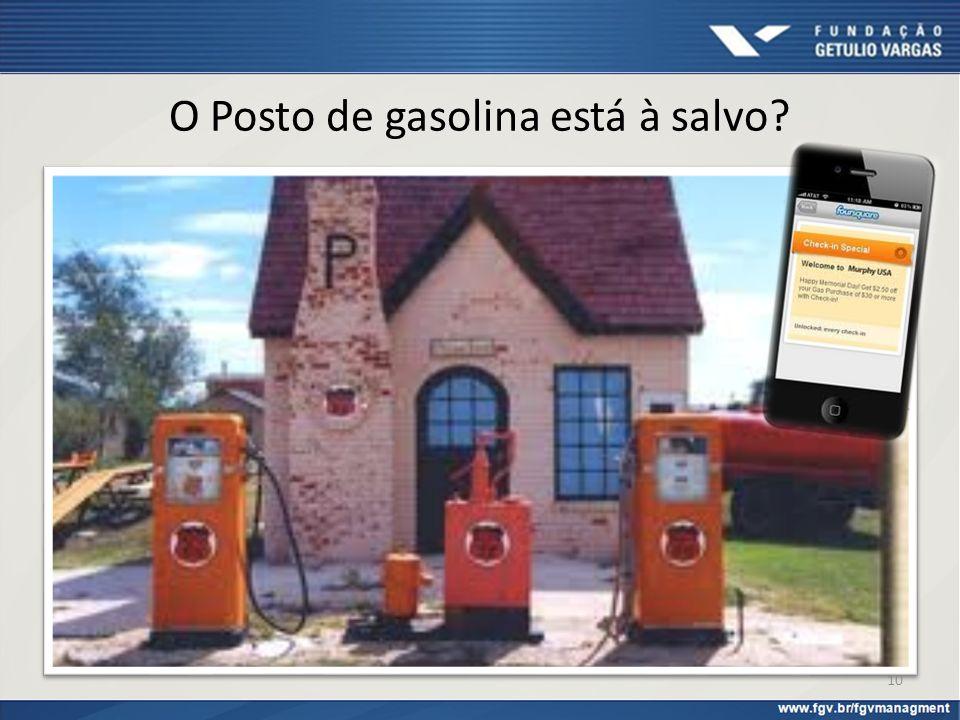 O Posto de gasolina está à salvo