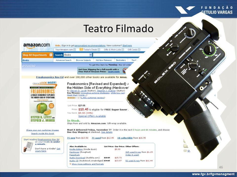 Teatro Filmado A Amazon.com é um dos varejistas on-line que mais se distancia do teatro filmado na hora de fazer suas vendas on-line.
