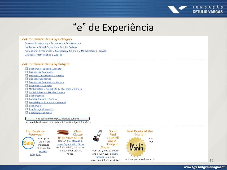 e de Experiência Como se sairiam os varejistas brasileiros em uma comparação com a Amazon.com.