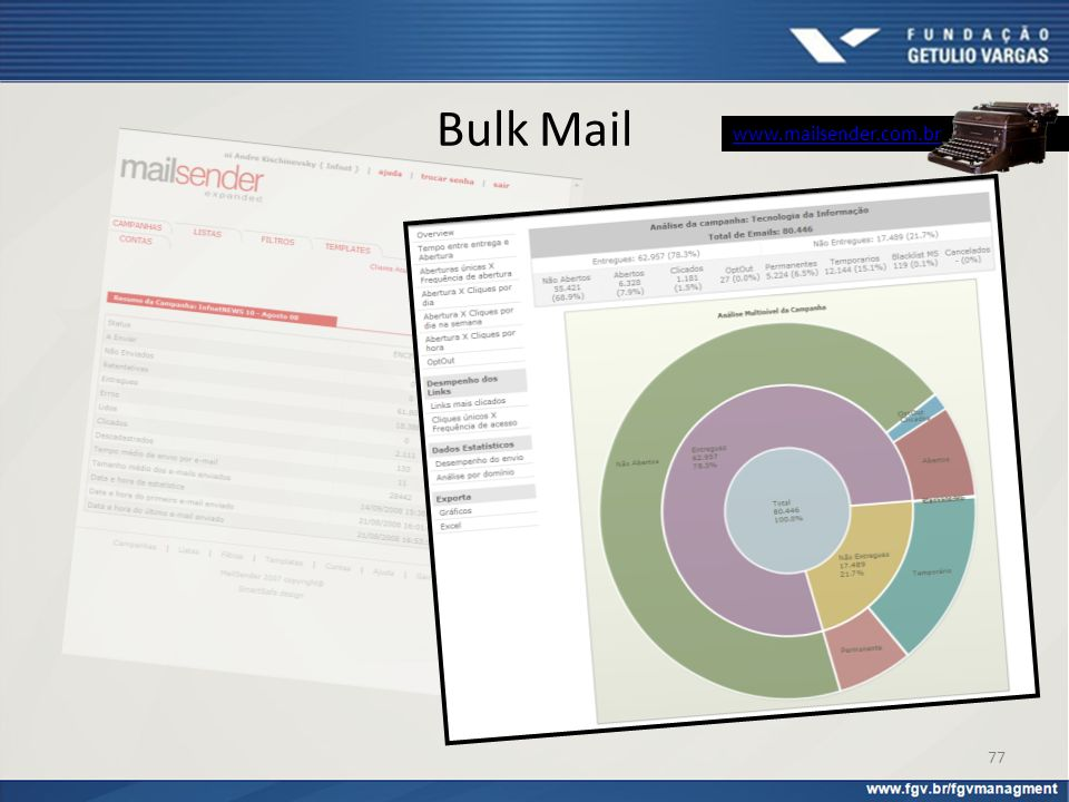 Bulk Mail www.mailsender.com.br