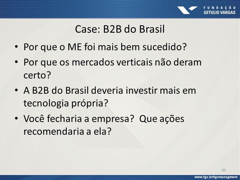 Case: B2B do Brasil Por que o ME foi mais bem sucedido