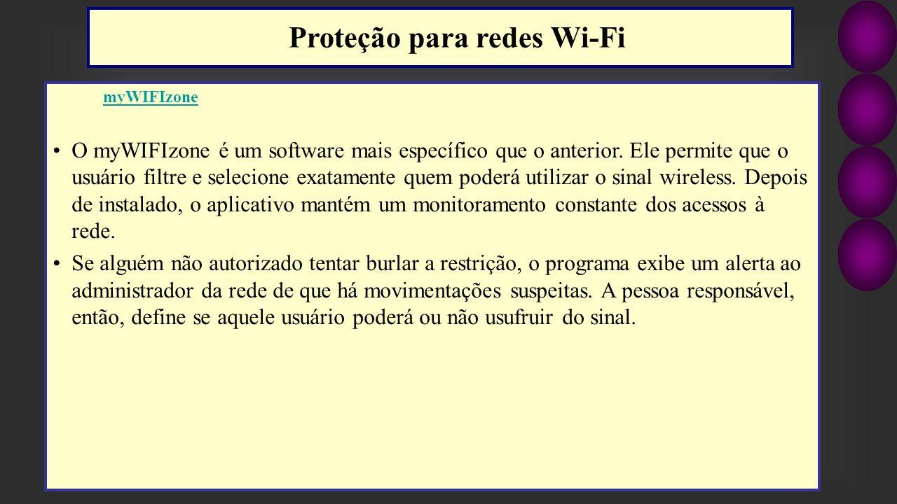 Proteção para redes Wi-Fi