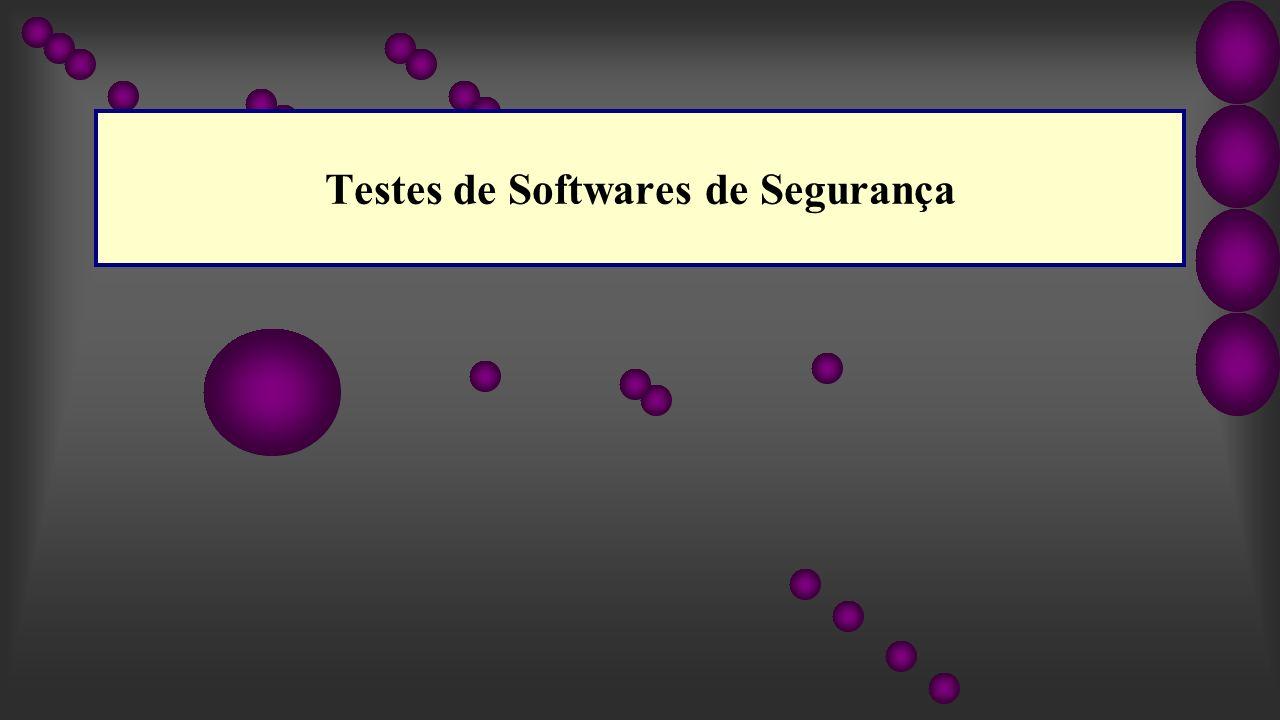 Testes de Softwares de Segurança