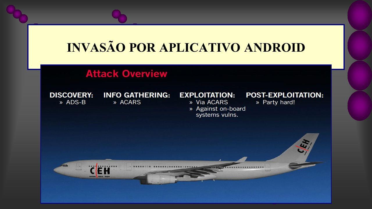 INVASÃO POR APLICATIVO ANDROID