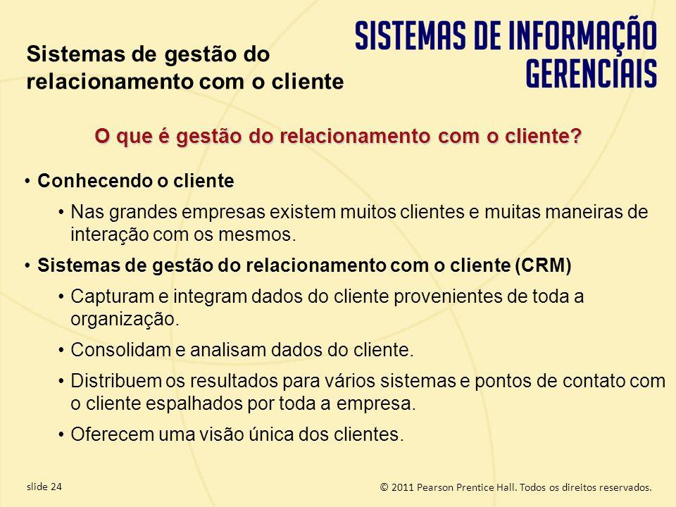 O que é gestão do relacionamento com o cliente
