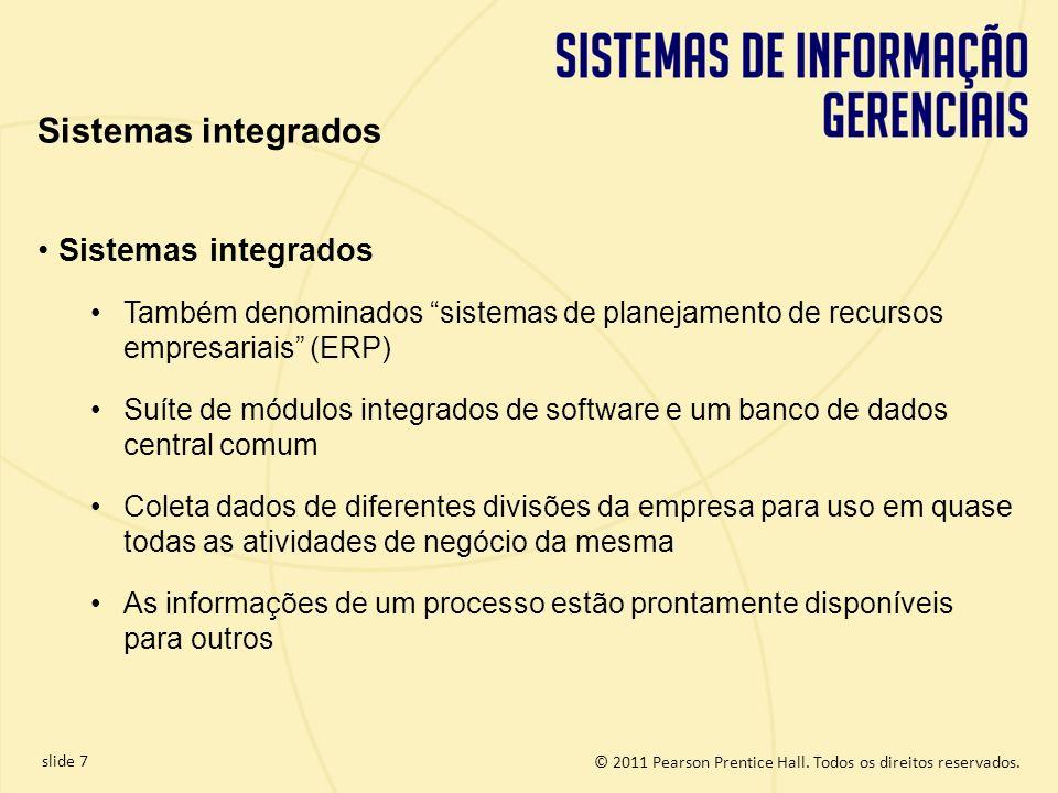 Sistemas integrados Sistemas integrados