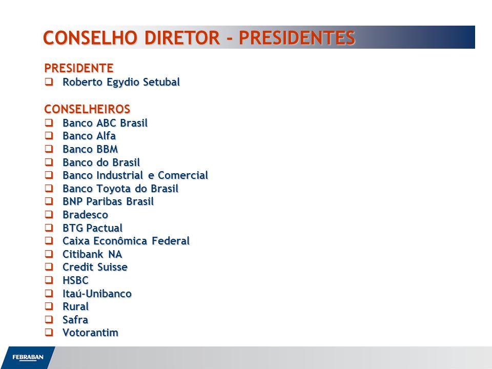 CONSELHO DIRETOR - PRESIDENTES