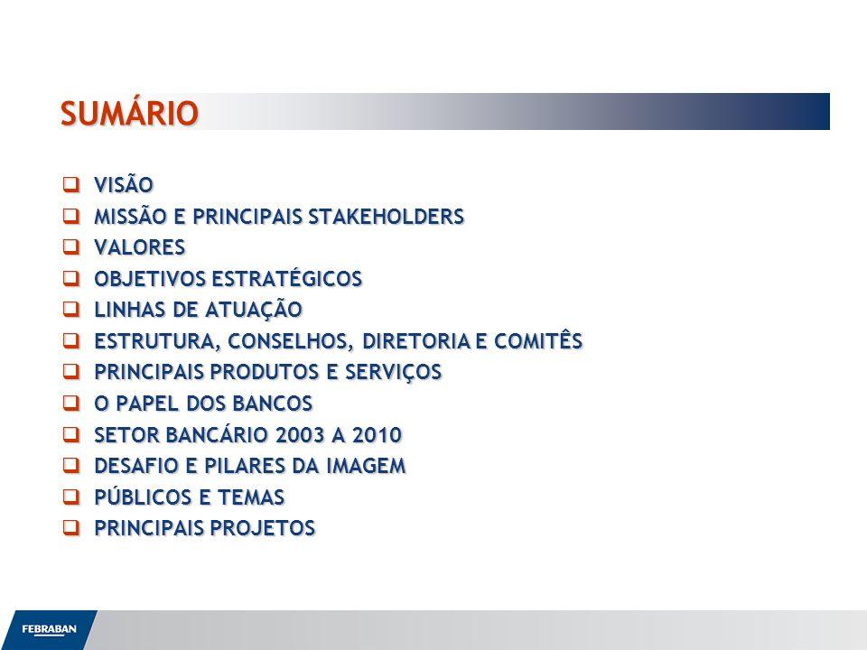 SUMÁRIO VISÃO MISSÃO E PRINCIPAIS STAKEHOLDERS VALORES
