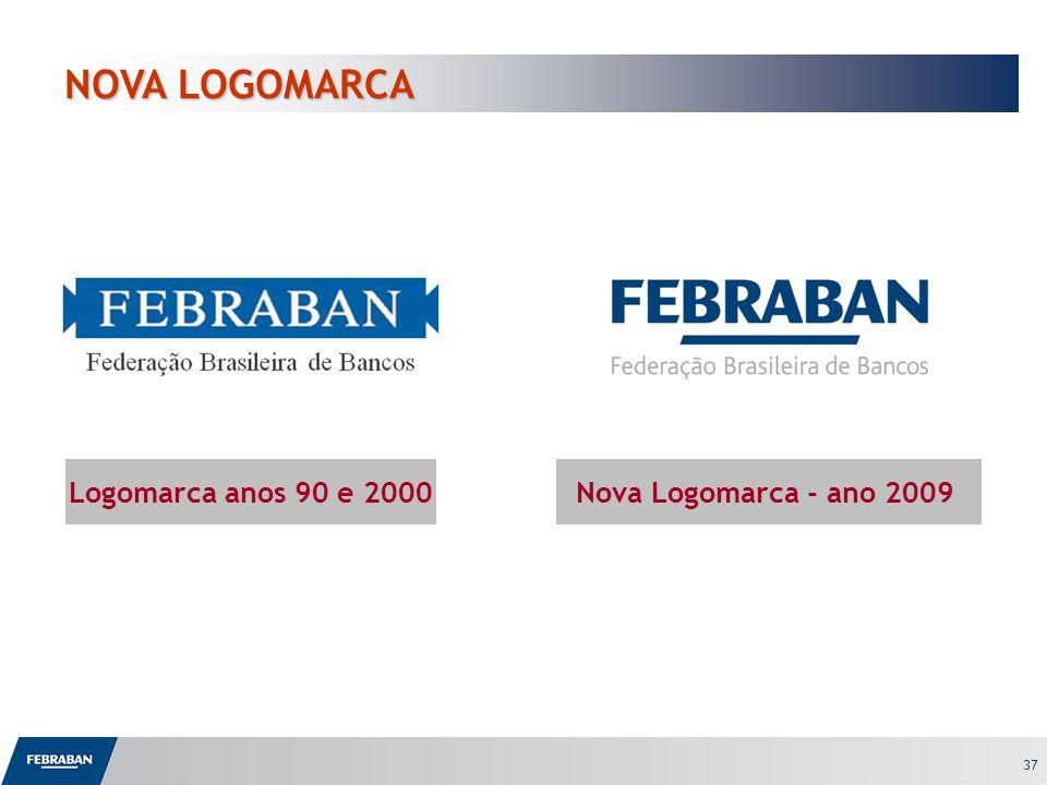 NOVA LOGOMARCA Logomarca anos 90 e 2000 Nova Logomarca - ano 2009 37