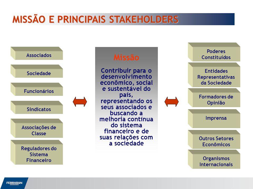MISSÃO E PRINCIPAIS STAKEHOLDERS